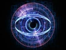 Eye of technology stock illustration