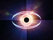 Eye of technology Stock Photography