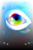 Eye, technology Stock Images