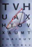Eye test Royalty Free Stock Images