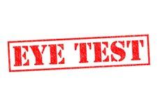 EYE TEST Royalty Free Stock Images