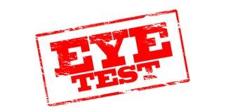 Eye test Royalty Free Stock Photos