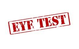 Eye test Royalty Free Stock Photo