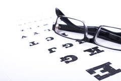 Eye test Stock Image