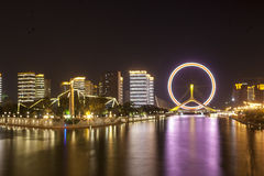 The Eye of Tianjin. The most famous place in Tianjin,China Stock Images
