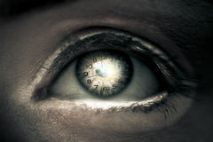 Eye Of Time Royalty Free Stock Photo