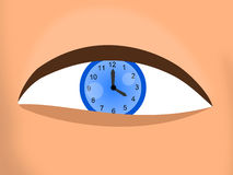 Eye time Stock Photos