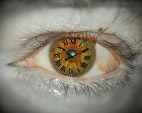 Eye royalty free stock photo