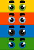 Eye un fumetto Immagine Stock Libera da Diritti