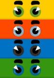 Eye una historieta Imagen de archivo libre de regalías