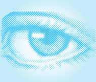 Eye in vector Royalty Free Stock Photography