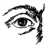 Eye (vettore) Immagine Stock Libera da Diritti