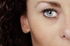 Eye vicino in su Immagini Stock