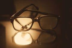 Eye vidros fotografia de stock