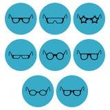 Eye-wear icon designs royalty free illustration