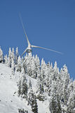 Eye of the Wind tubine, Grouse Mountain Royalty Free Stock Photos