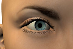 Eye of woman Royalty Free Stock Photography