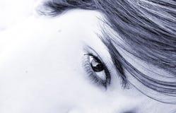 eye woman Στοκ Εικόνες