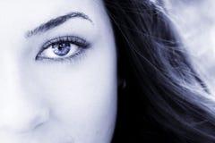 eye woman Στοκ εικόνα με δικαίωμα ελεύθερης χρήσης