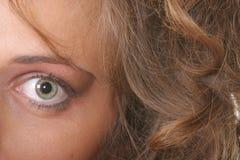Eye of woman Royalty Free Stock Photos