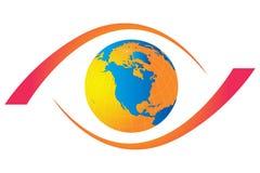 Eye world Royalty Free Stock Photos