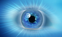 Eye of the world Royalty Free Stock Photography