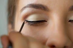 Eye zone make-up Royalty Free Stock Photos