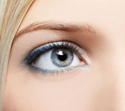 Eye-zone make-up Stock Image