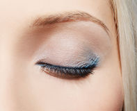 Eye-zone make-up Royalty Free Stock Photos