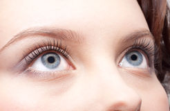 Eye zone make up Stock Images