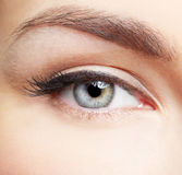 Eye zone makeup Stock Photography