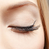 Eye zone makeup Stock Photos