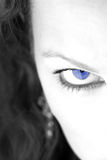 Eye1 azul Foto de Stock Royalty Free