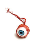Eyeball. A realistic looking eyeball isolated on white Stock Photos