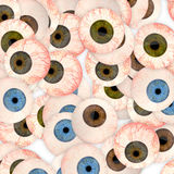 Eyeball background Stock Photo