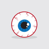Eyeball Bloodshot Stock Image