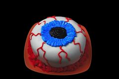Eyeball Cake Royalty Free Stock Photos