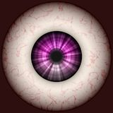 Eyeball illustration Stock Image