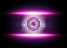 Eyeball security technology Royalty Free Stock Photography