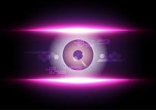 Eyeball security technology Royalty Free Stock Photography