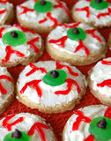 Eyeball Sugar Cookies Stock Photos
