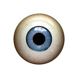 Eyeball. On the white background Royalty Free Stock Photos