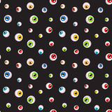 Eyeballs Seamless Background Royalty Free Stock Photo