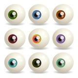 Eyeballs Royalty Free Stock Photos