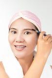 Eyebrow brush tool Stock Images