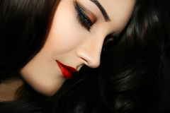 Eyebrow, Lip, Beauty, Human Hair Color Stock Image