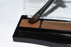 Eyebrow shadow palette Stock Photo