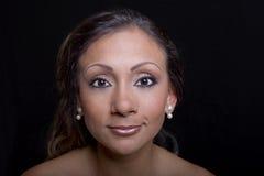 Eyebrow Tattoos & Makeup Stock Photography