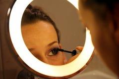 eyebrush αποτελέστε Στοκ Εικόνες