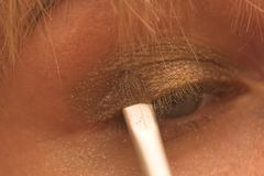 Eyebrush stock afbeeldingen